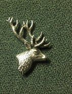 Tennbrosch hjort