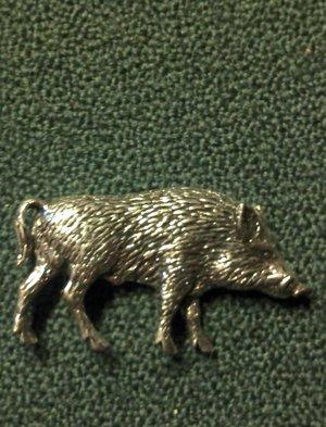 Tennbrosch vildsvin