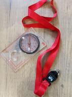 Kompass med lupp